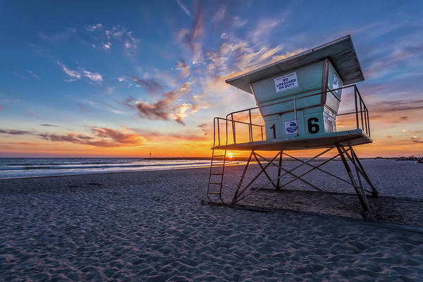 Photograph - No Lifeguard On Duty by Peter Tellone
