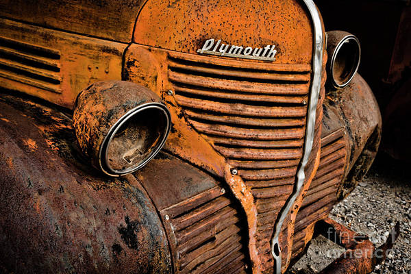 Photograph - No Lights On This Plymouth by Janice Pariza