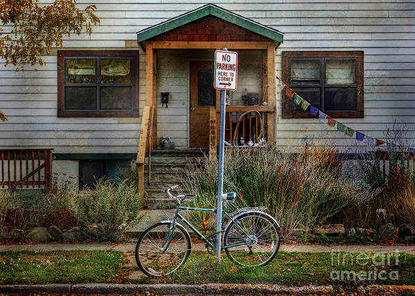 Photograph - No Parking Schwinn by Craig J Satterlee