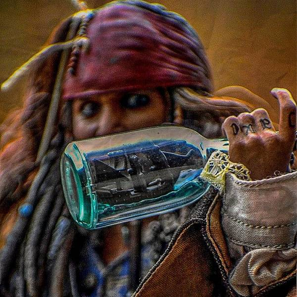 Pirates Of The Caribbean Digital Art - No Rum In Here by Jeremy Guerin