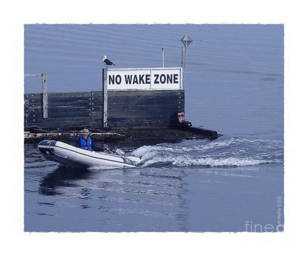 Photograph - No Wake Zone by Art MacKay