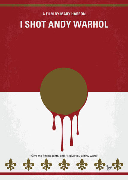 Wall Art - Digital Art - No1000 My I Shot Andy Warhol Minimal Movie Poster by Chungkong Art