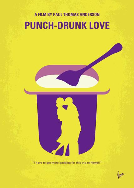 Crook Wall Art - Digital Art - No1022 My Punch-drunk Love Minimal Movie Poster by Chungkong Art