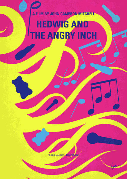 Wall Art - Digital Art - No1046 My Hedwig And The Angry Inch Minimal Movie Poster by Chungkong Art