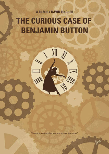 Wall Art - Digital Art - No1068 My Curious Case Of Benjamin Button Minimal Movie Poster by Chungkong Art