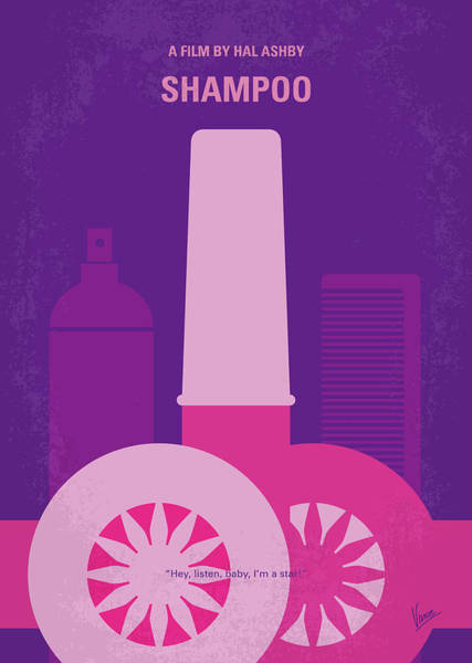 Wall Art - Digital Art - No1074 My Shampoo Minimal Movie Poster by Chungkong Art