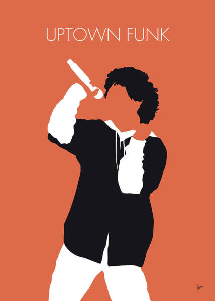 Wall Art - Digital Art - No223 My Bruno Mars Minimal Music Poster by Chungkong Art