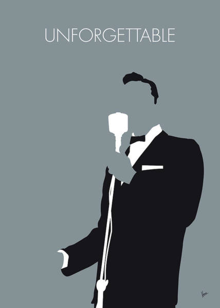 Wall Art - Digital Art - No247 My Nat King Cole Minimal Music Poster by Chungkong Art
