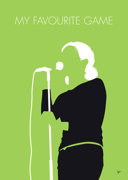 Wall Art - Digital Art - No256 My The Cardigans Minimal Music Poster by Chungkong Art
