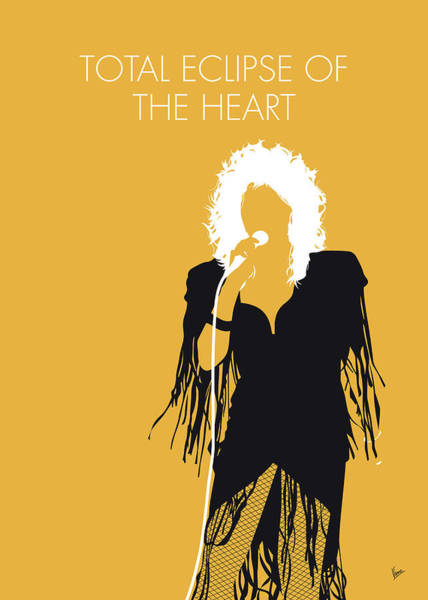 Wall Art - Digital Art - No264 My Bonnie Tyler Minimal Music Poster by Chungkong Art