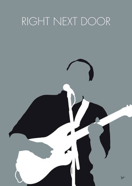 Wall Art - Digital Art - No267 My Robert Cray Minimal Music Poster by Chungkong Art