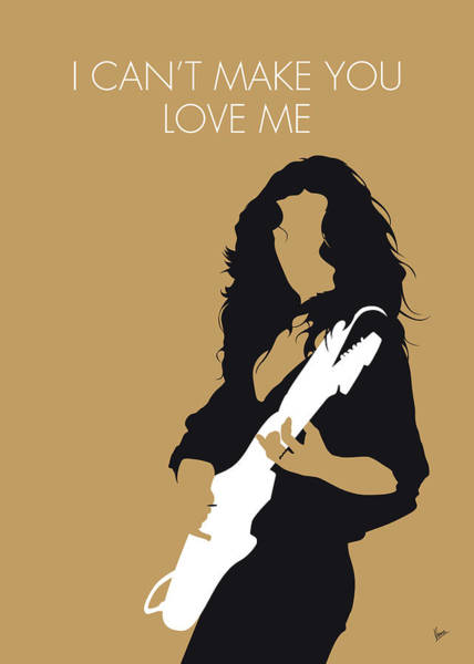 Wall Art - Digital Art - No270 My Bonnie Raitt Minimal Music Poster by Chungkong Art