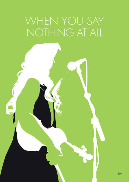 Wall Art - Digital Art - No276 My Alison Krauss Minimal Music Poster by Chungkong Art