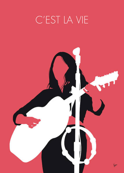 Wall Art - Digital Art - No282 My Emmylou Harris Minimal Music Poster by Chungkong Art