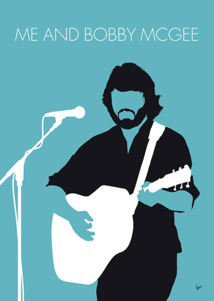 Wall Art - Digital Art - No285 My Kris Kristofferson Minimal Music Poster by Chungkong Art