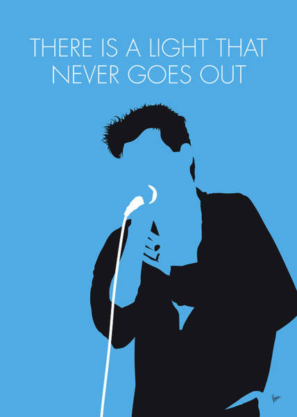 Wall Art - Digital Art - No289 My The Smiths Minimal Music Poster by Chungkong Art