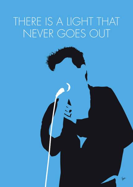 Digital Art - No289 My The Smiths Minimal Music Poster by Chungkong Art