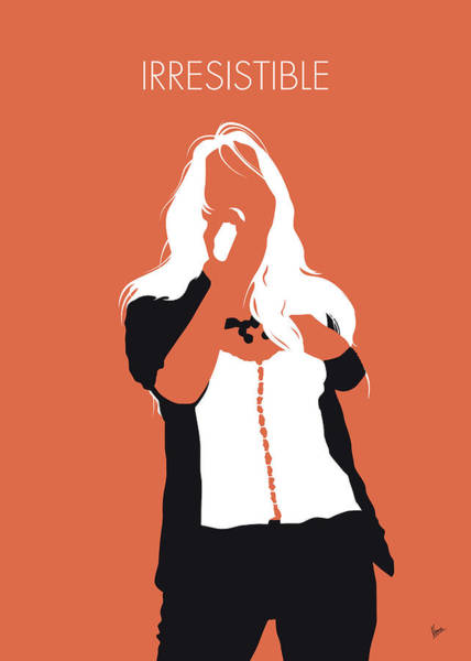 Wall Art - Digital Art - No293 My Jessica Simpson Minimal Music Poster by Chungkong Art