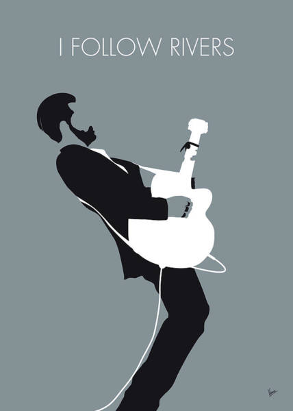 Wall Art - Digital Art - No297 My Triggerfinger Minimal Music Poster by Chungkong Art
