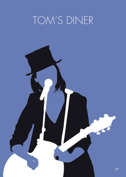 Diner Wall Art - Digital Art - No298 My Suzanne Vega Minimal Music Poster by Chungkong Art