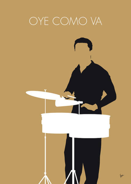 Wall Art - Digital Art - No300 My Tito Puente Minimal Music Poster by Chungkong Art