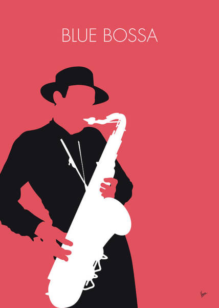 Wall Art - Digital Art - No302 My Dexter Gordon Minimal Music Poster by Chungkong Art