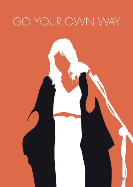 Digital Art - No303 My Fleetwood Mac Minimal Music Poster by Chungkong Art