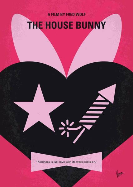 House Digital Art - No966 My The House Bunny Minimal Movie Poster by Chungkong Art
