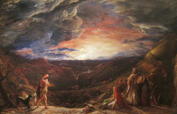 Wall Art - Painting - Noah - On The Eve Of The Deluge by John Linnell