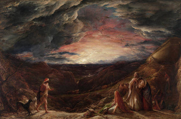Safe Painting - Noah, The Eve Of The Deluge, 1848 by John Linnell