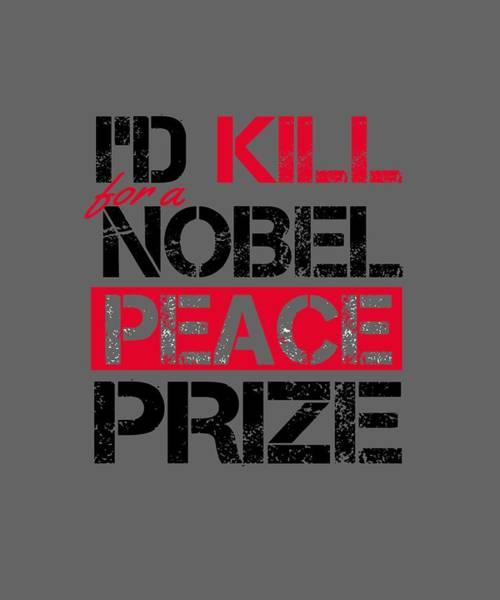 Digital Art - Nobel Prize by Shopzify