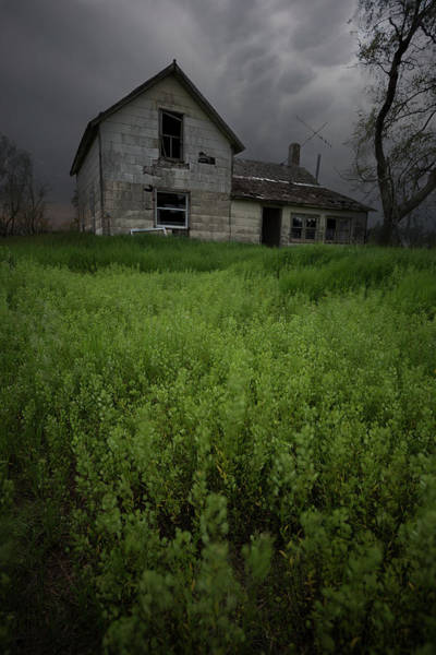 Wall Art - Photograph - Nobody's Home by Aaron J Groen