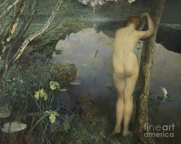 Wall Art - Painting - Nocturne, 1887 by Hjalmer Eilif Emanuel Peterssen