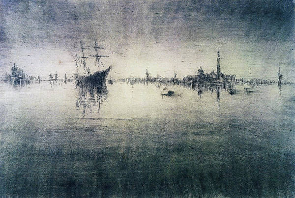 Wall Art - Painting - Nocturne - Digital Remastered Edition by James McNeill Whistler
