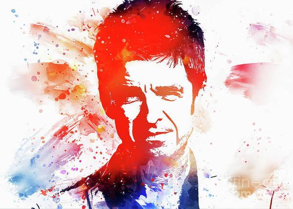 Wall Art - Digital Art - Noel Gallagher Art by Ian Mitchell