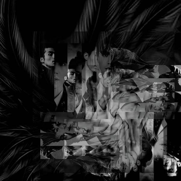 Mixed Media - Film Noire by Ellie Perla