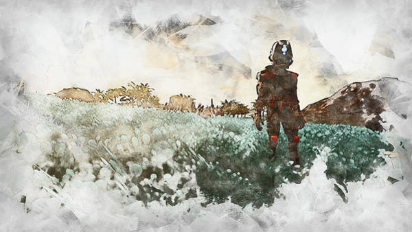 Painting - Nomads In The Sky - 05 by Andrea Mazzocchetti