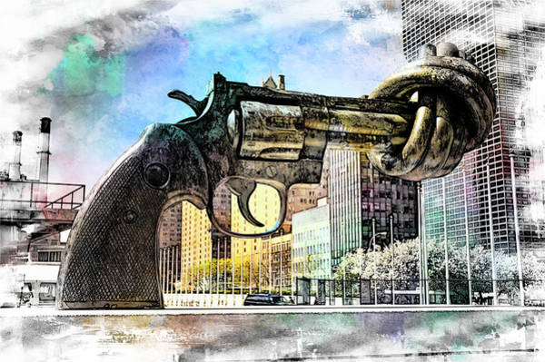 Wall Art - Photograph - Non - Violence by Paul Coco