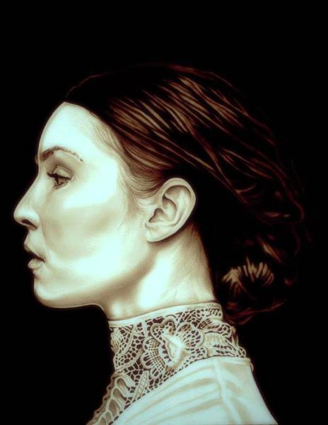 Drawing - Noomi Rapace by Fred Larucci