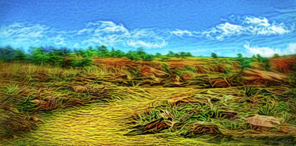 Digital Art - Noontime Trail Delight by Joel Bruce Wallach