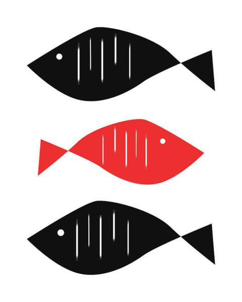 Wall Art - Digital Art - Nordic Fish by Pati Photography
