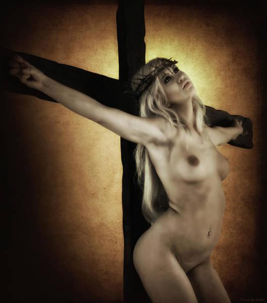Wall Art - Photograph - Nordic Jesus V by Ramon Martinez