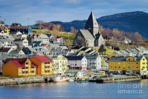 Photograph - Nordlandet Church,  Kristiansund , Norway by Martyn Arnold