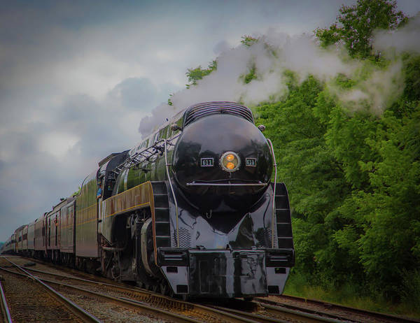 Photograph - Norfolk And Western 611 by Lora J Wilson