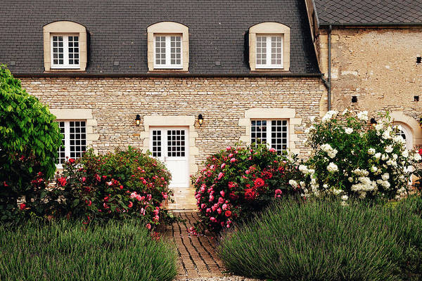 Wall Art - Photograph - Normandy Cottage by Andrew Soundarajan
