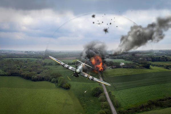 Photograph - Normandy Typhoon Shockwave  by Gary Eason