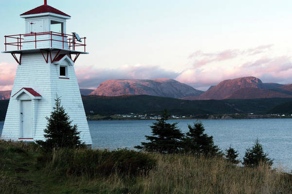 Gros Morne Photograph - Norris Point And Gros Morne Mountain by Myloupe/uig