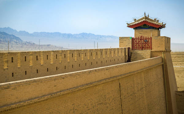 Photograph - North Arrow Tower Guan City Jiayuguan Gansu China by Adam Rainoff