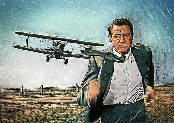 Wall Art - Digital Art - North By Northwest by Zapista Zapista