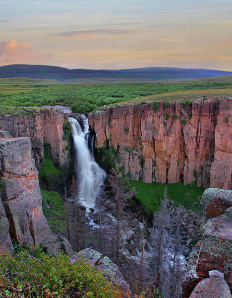 Photograph - North Clear Creek Falls, Rio Grande by